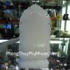 Phật Bà đá Bạch ngọc DT161