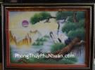 Tranh Song Hạc TPC04