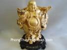 Phật di lạc mạ vàng A119