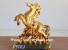 Ngựa vàng phi nước đại G111A