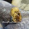 Mặt hổ đeo cổ đá mắt mèo S6721