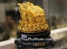 Cóc vàng trên đống tiền vàng C062A