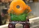 Mẫu đơn cam hoa hảo nguyệt viên C197A
