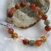 Chuỗi thạch anh nhiều màu A+ Phước-Lộc-Thọ Uruquay 10li S6230-S1-1277