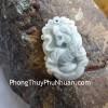 Mặt 12 con giáp Phỉ Thúy xanh nhỏ Tuổi Dần S6641-3