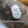 Mặt 12 con giáp Phỉ Thúy xanh nhỏ Tuổi Tỵ S6641-6