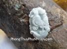 Mặt 12 con giáp Phỉ Thúy xanh nhỏ Tuổi Dậu S6641-10