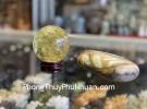Quả cầu thạch anh vàng xịn GM194-12935