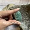 Phật bản mệnh Phỉ Thúy xanh đậm sắc sảo A+ nhỏ (Sửu – Dần) S6865-2