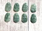 Phật bản mệnh Phỉ Thúy xanh đậm sắc sảo A+ nhỏ (Tuất – Hợi) S6865-8
