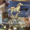 Thần ngựa đồng cõng nguyên bảo (nhỏ) D284