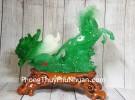 Thần ngựa xanh ngọc kéo bắp cải LN122