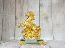 Vua ngựa vàng trên bắp cải vàng LN135