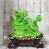 Thần rồng xanh khủng cầm hồng ngọc Tài Phú LN149