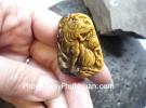 Mặt hổ đeo cổ đá mắt mèo S6852