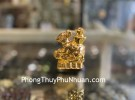 Chuột vàng dán xe cõng nén vàng TM027