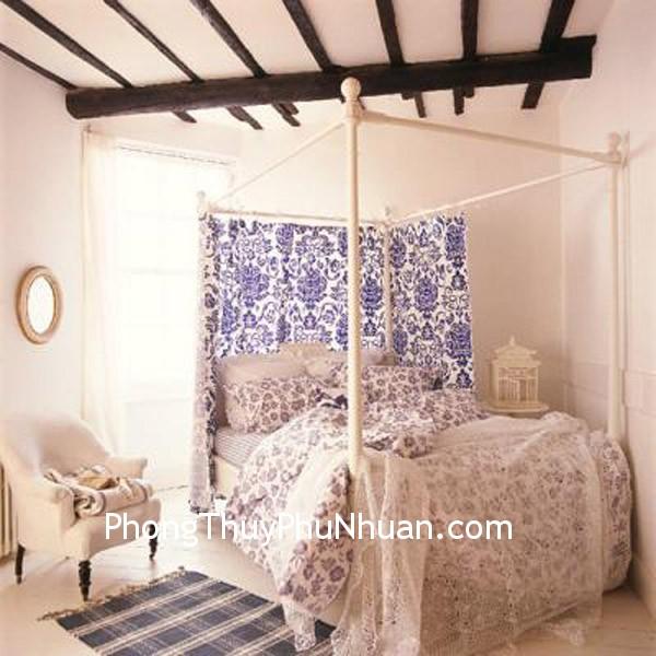 phong ngu Năng lượng yên tĩnh trong phòng ngủ