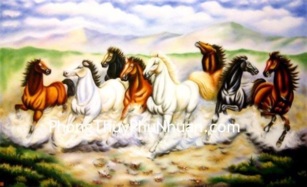 ngua Ngựa đặt ở hướng Nam