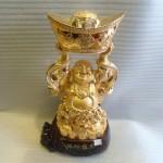 phat di lac H240G 150x150 Phật Di Lặc đứng vàng H240G