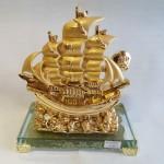 thuyen H452G 150x150 Thuyền buồm mạ vàng H452G