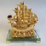 thuyen H452G 2 150x150 Thuyền buồm mạ vàng H452G