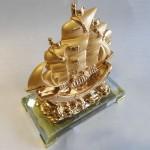 thuyen H452G 3 150x150 Thuyền buồm mạ vàng H452G