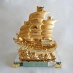 thuyen vang nho H455G 150x150 Thuyền rồng mạ vàng H455G