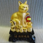 meo vang H426G 150x150 Mèo vàng chiêu tài H426G