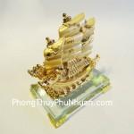 thuyen k167m 150x150 Thuyền rồng mạ vàng nhỏ K167M