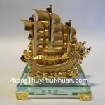 thuyen k167m 2 150x150 Thuyền rồng mạ vàng nhỏ K167M