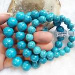 chuoi da ngoc lam 150x150 Chuỗi ngọc lam trung (đá Turquoise) S6290