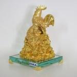 g011a gia dinh ga toan gia phuoc 1 150x150 Gia đình gà trên đống vàng đế thủy tinh G011A