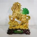 g106a ngua cong bap cai 150x150 Ngựa vàng cõng cải xanh G106A