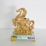 g113a ngua vang nho 150x150 Ngựa vàng trên mây vàng G113A