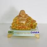 g146a di lac ngoi vang nho 150x150 Phật di lạc vịn nén kim bảo lớn G146A