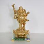 g149a di lac dung tu bao 150x150 Phật di lạc cầm dơi trên bồn tụ bảo lớn G149A