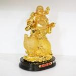g152a di lac tren ho lo 1 150x150 Phật di lạc quả đào vàng trên hồ lô vàng G152A