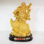 g152a di lac tren ho lo 150x150 Phật di lạc quả đào vàng trên hồ lô vàng G152A
