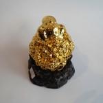 C066A thiem thu vang nho 3 150x150 Thiềm thừ vàng nhỏ trên đế gỗ xoay C066A