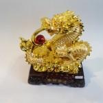 C077A rong vang 2 150x150 Rồng vàng phun châu đồng tiền C077A