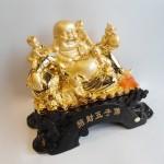 C134A phat di lac ngu tu 3 150x150 Phật di lạc ôm đồng tử C134A