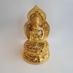 C137A phat ba quan am vang 150x150 Phật quan âm trên đế sen C137A