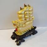 C186A thuyen rong 2 150x150 Thuyền buồm rồng vàng trên sóng vàng C186A