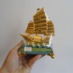 C190A thuyen buom nho 3 150x150 Thuyền vàng bạch kim đế thủy tinh C190A