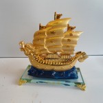 C191A thuyen rong vang nho 150x150 Thuyền buồm rồng sóng xanh C191A