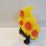 C196A hoa mau don 2 150x150 Giỏ mẫu đơn vàng hoa đỏ C196A