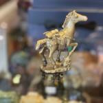 D284 ngua dong nho 3 150x150 Thần ngựa đồng cõng nguyên bảo (nhỏ) D284