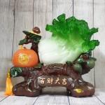 ln074 bap cai cam vang 2 150x150 Bắp cải xanh lớn bên cây trái cam đế gỗ LN074