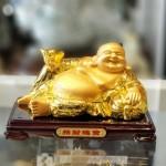 ln190 phat di lac vang 2 150x150 Phật di lạc tay cầm nén vàng trên túi tiền LN190
