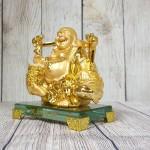 ln191 di lac quay vang 150x150 Phật di lạc vàng gánh thùng tiền LN191